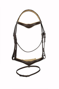 Padded Fancy Stitch Jump Bridle