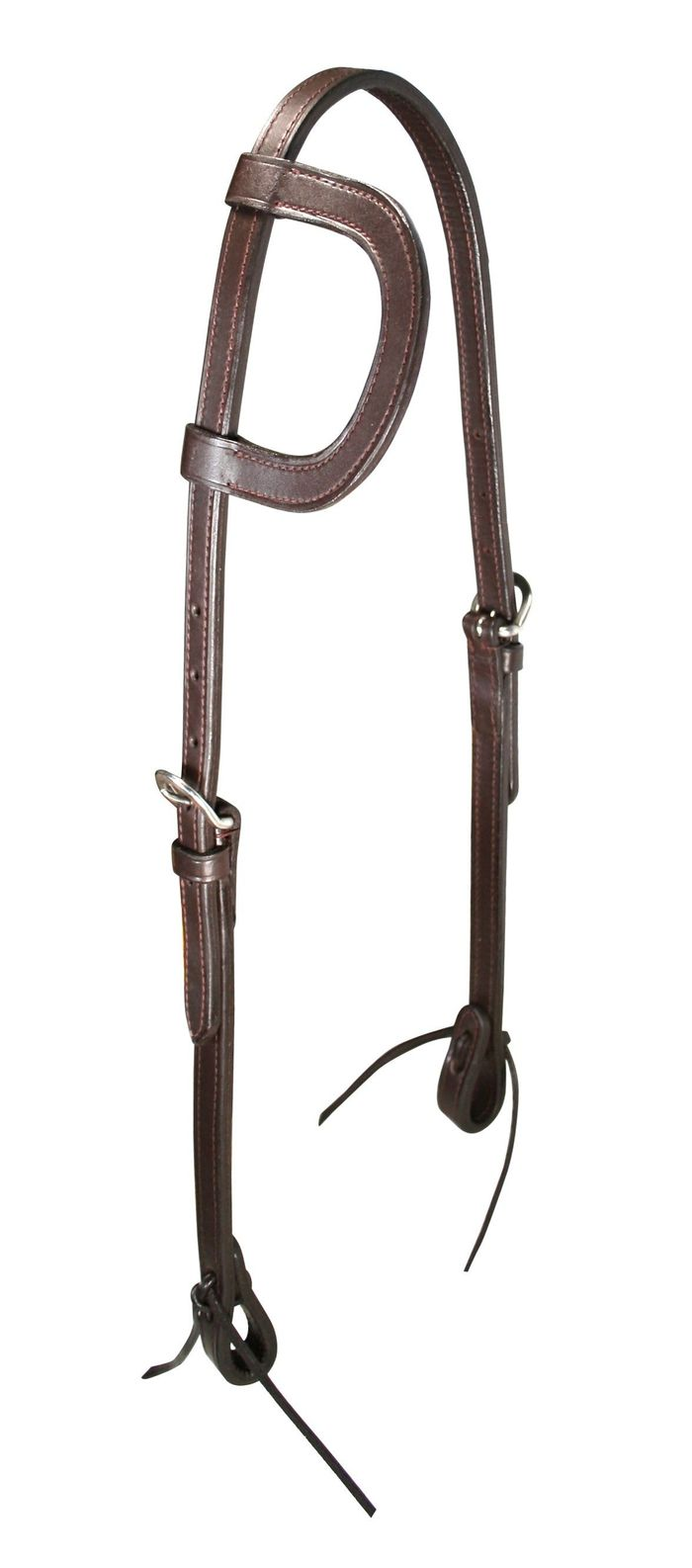 Premium double layer leather headstalls / headstall
