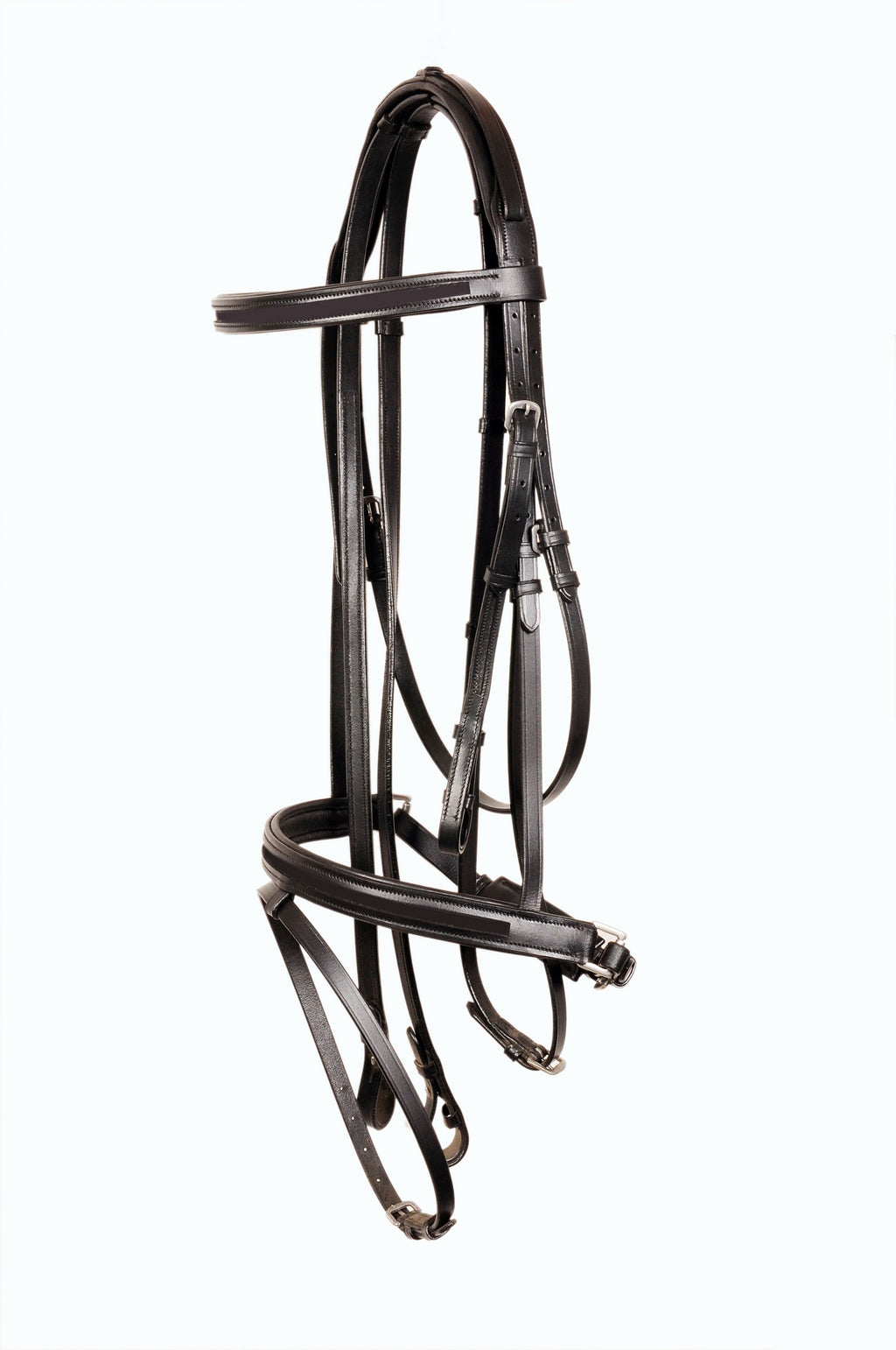 Empty Channel Leather Horse Bridles / Bridle 8 mm