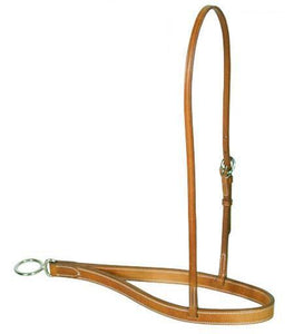 Double stitched Leather Noseband