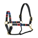 SIE Polo Leather Adjustable Horse Halters