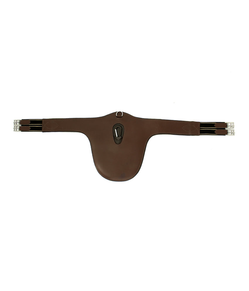 Padded Belly Gaurd Jumping Leather Horse Girth