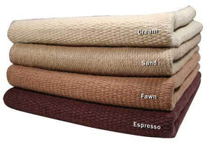 Solid Color New Zealand Wool Saddle Blankets