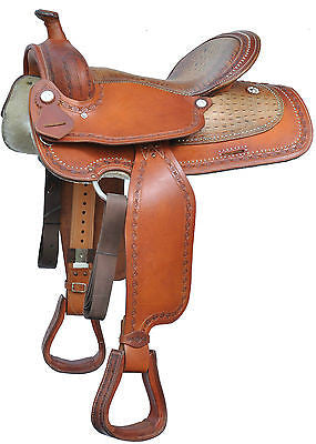 Swamp Hide Pleasure Western alligator Saddle - USA LEATHER Closeout