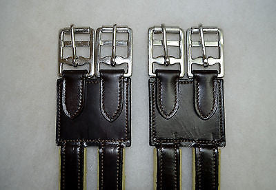 SIE Leather Girth Extender with Elastic