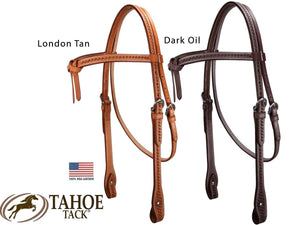 Weave Knotted Headstall & Breast Collar Set