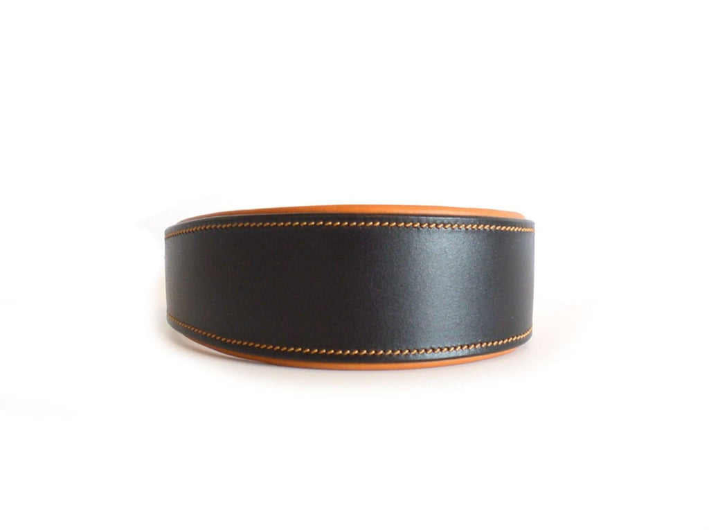 Tan Padded Leather Collar