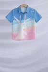 *Kids* Apple In The Eyes Shirt In Pink/Mint