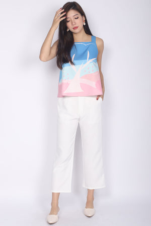 Apple Of My Eye Top In Pink/Mint