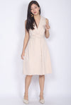 Belin Trench Dress In Wheat