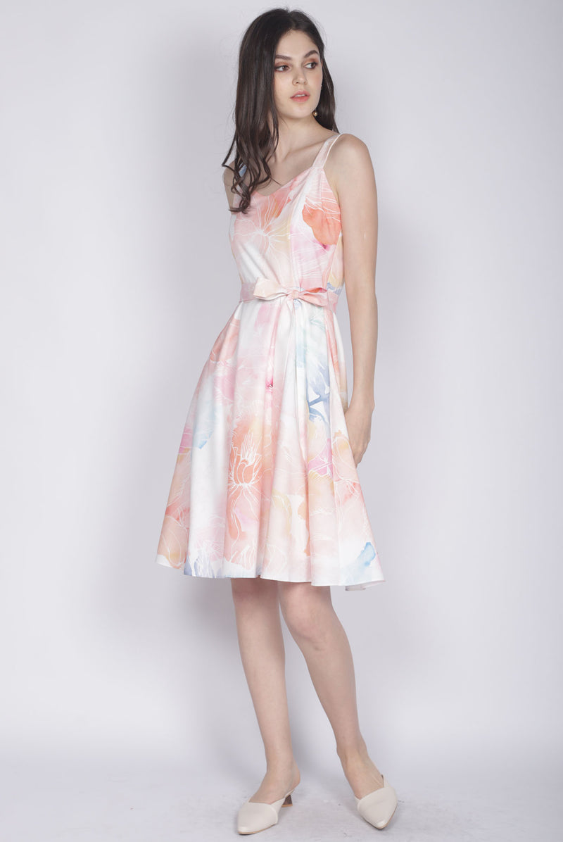 Caihong Flare Dress