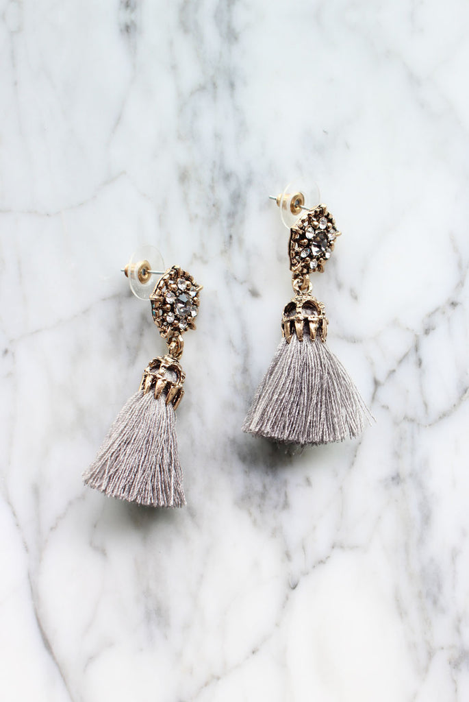 *Preorder* Clarke Tassel Drops Earrings
