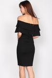 *Restock* Darla Tier Off Shoulder Dress