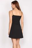 Emberly Cut In Dress In Black