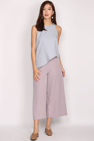 Ginevra Asymm Top In Skyblue