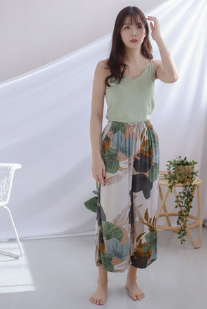Gracie Lounge Pants In Leafy