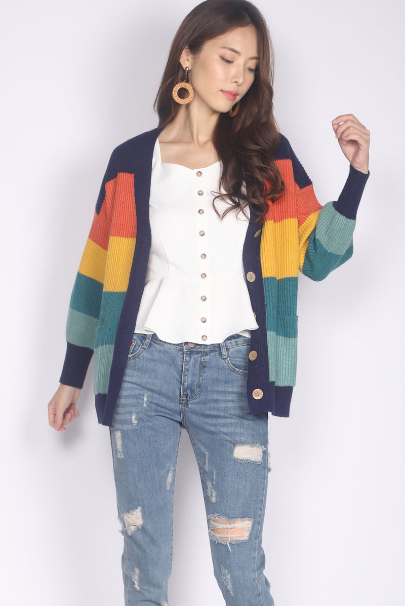 *Backorder* Harmony Rainbow Cardigan