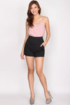 TDC Parris Cami Top In Blush
