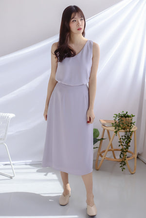 Josefin Two Ways Tank Top In Lilac