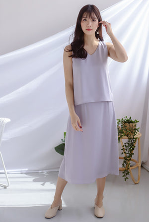 Josefin A Line Skirt In Lilac