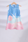 *Kids* Apple In The Eyes Dress In Pink/Mint