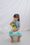 *Kids* Apple In The Eyes Dress In Green/Yellow