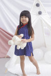 *Kids* Kylin Polkadot Cheongsam Dress
