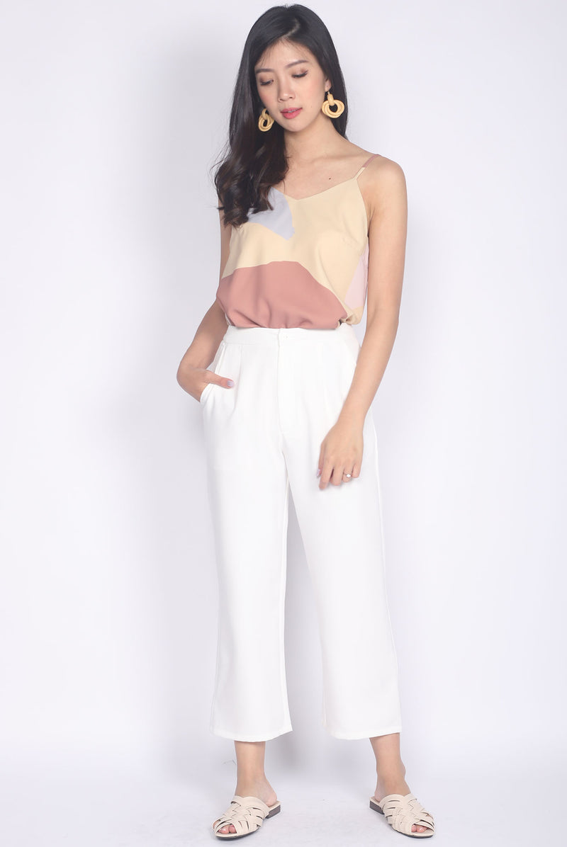 Ginger Culottes In White