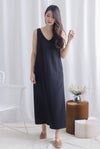 Meira 2 Way Maxi Dress In Black