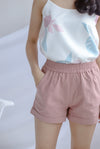 Paradise Casual Shorts In Pink
