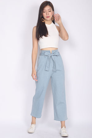 *Restocked* Rei Denim Pants In Light Wash