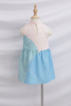 *Kids* Reunion Cheongsam Dress In Blue