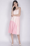 Reunion Spag Tent Dress In Pink