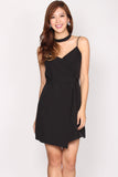 Romilly Wrap Dress In Black