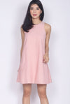 Rosewillow Tweed Tank Dress In Pink