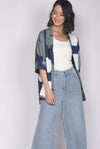 Ruthea Reversible Outerwear In Navy Blue