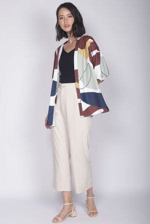 Ruthea Reversible Outerwear In White