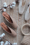 Piperel Pointed Heels In Cream