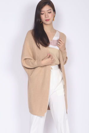 *Restocked* Sherelle Batwing Knit Cardigan In Oat