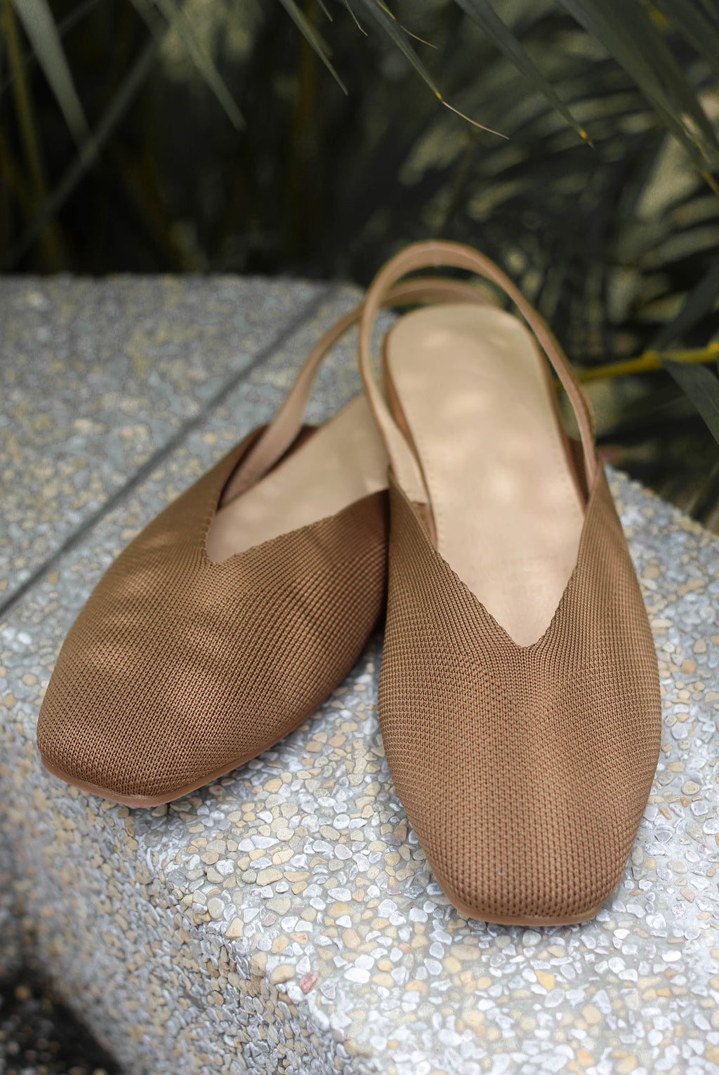 *Restock* Regan Slingback Shoes In Brown