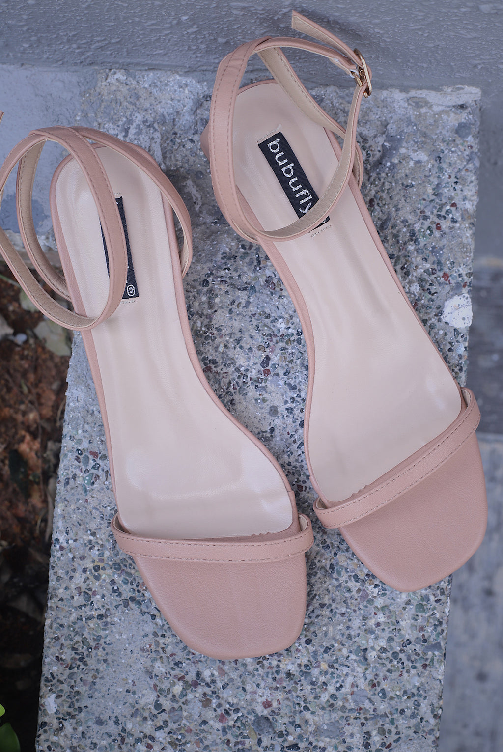 Eily Strappy Heels In Nude