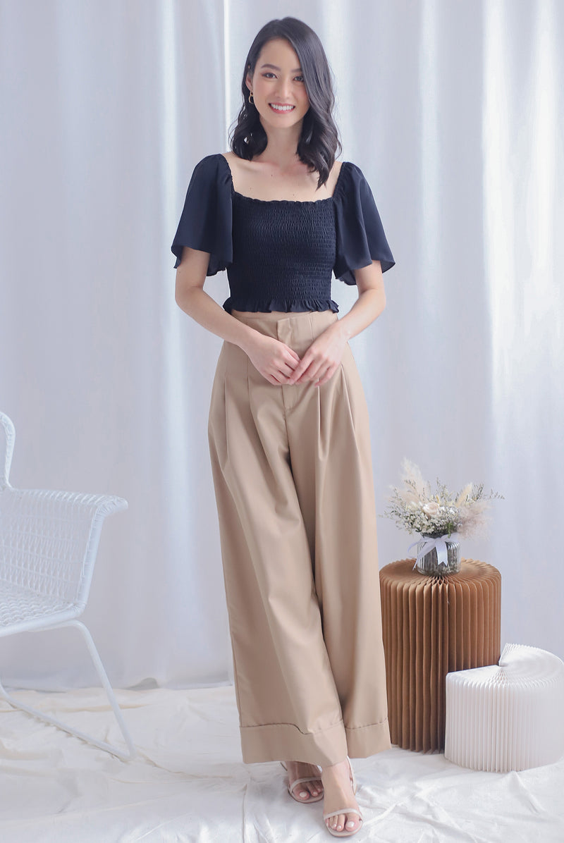 Madison Culottes In Khaki