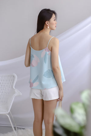 TDC Garland Printed Cami Top In Sage