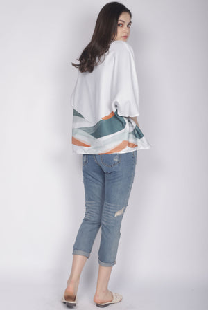 TDC Aino Wave Paint Outerwear