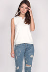TDC Alesia Tank Top In White