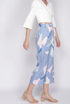 Tenzin Abstract Pants In Periwinkle