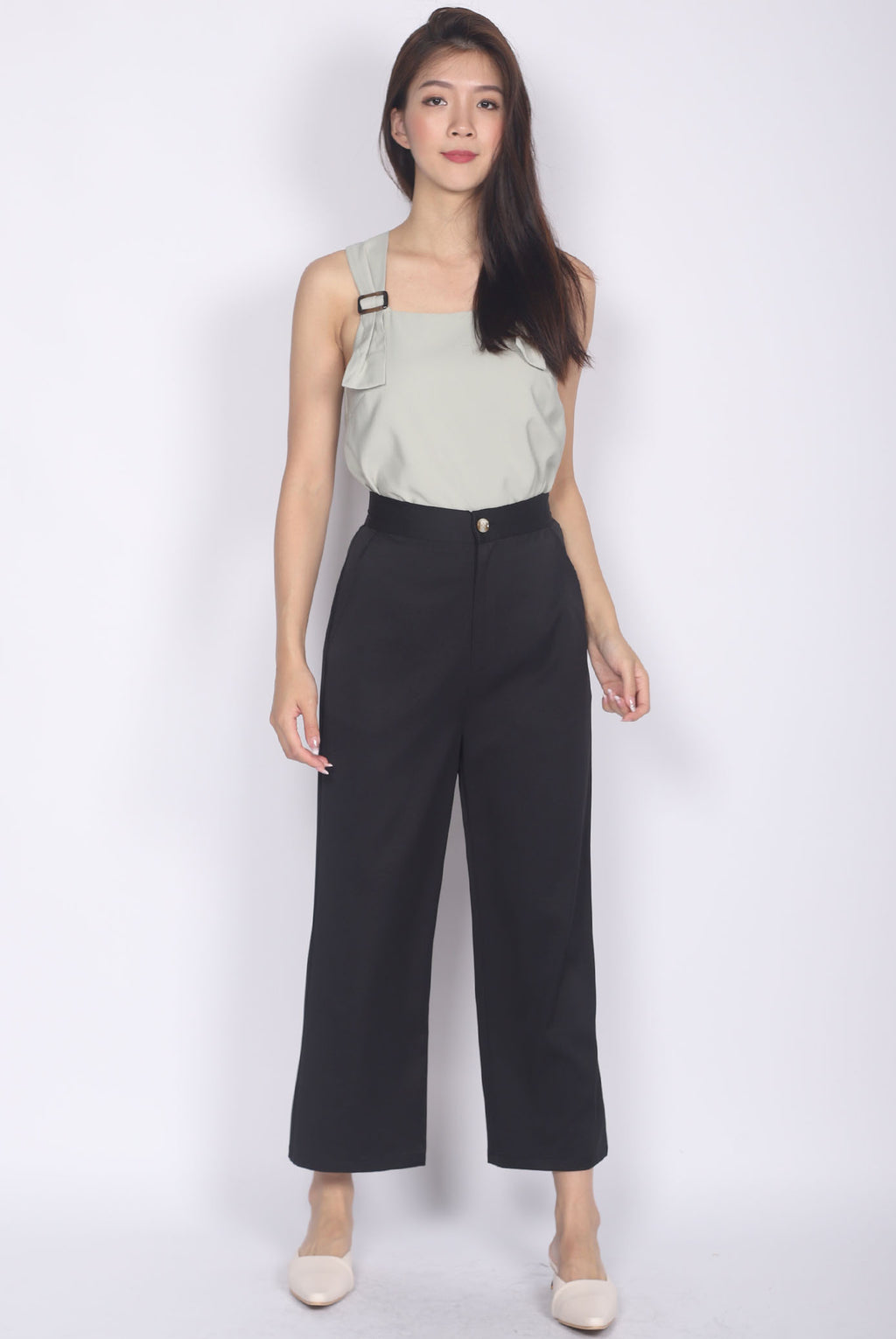 *Restocked* Winifred Culottes In Black
