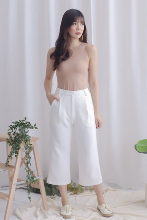 Zelda Culottes In White