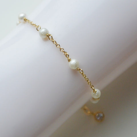 Bracelet with Small Pearls