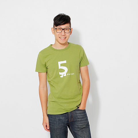 Male T-Shirt Give me 5